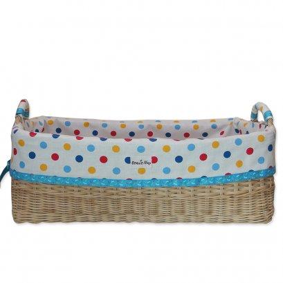 Beanie Nap ตะกร้าผ้าอ้อม ใส่ของใช้เด็ก ทรงเหลี่ยม ขนาด 12 นิ้ว