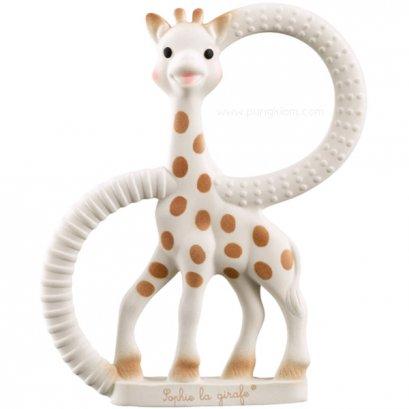 ยางกัด ยีราฟโซฟี Sophie la girafe® So'Pure แบบนิ่ม มีห่วง