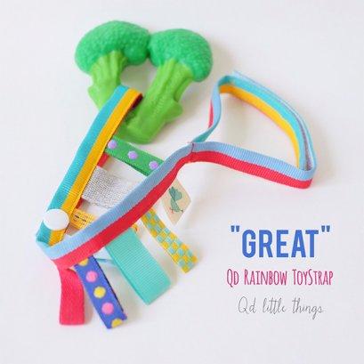 Qd Rainbow Toy Strap สายห้อยสายรุ้งอเนกประสงค์ Great