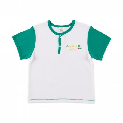 Auka Infant and Toddler Openfront T-shirt
