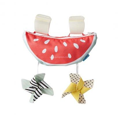Taf toys โมบายม่านบังแดด แบบพกพา watermelon sun shade