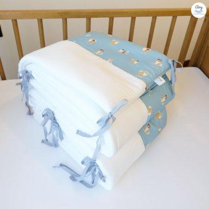 Airy ผ้ากั้นขอบเตียงหายใจผ่านได้