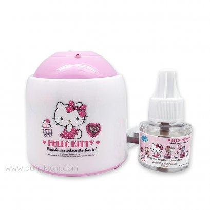 ปลั๊กเสียบกันยุงไฟฟ้า Kindee Hello Kitty (Limited Edition) (45 ml) (0m+)