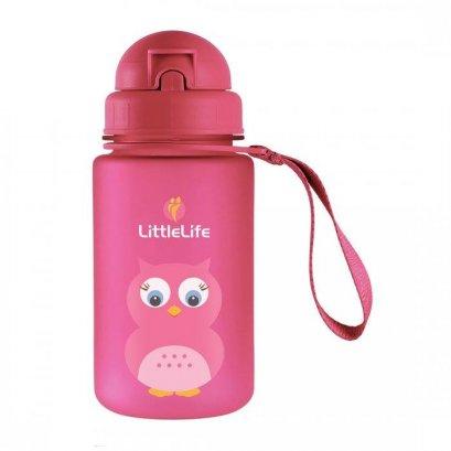 กระติกน้ำ Little Life  ลายนกฮูก - Owl Kids Water Bottle