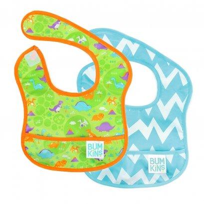 Bumkins Starter Bib 2 Pk  ผ้ากันเปื้อนเด็กแพ็คคู่ 3-9 เดือน
