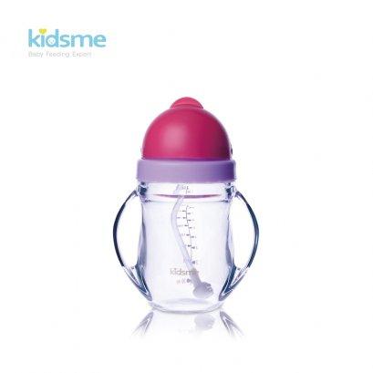Kidsme ขวดหัดดื่มสำหรับเด็กเนื้อไตรตัน พร้อมหลอดถ่วงน้ำหนัก