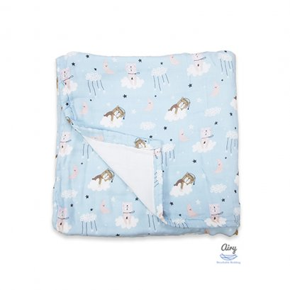 Baby Bamboo Blanket Airy (120x140 cm) (0m+)