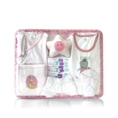 ชุดตะกร้าของขวัญเด็กอ่อน AUKA (0-6m)