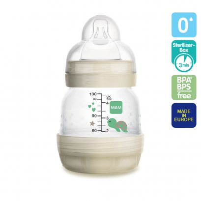 MAM Anti-colic Bottle 4 oz (Teat#0)
