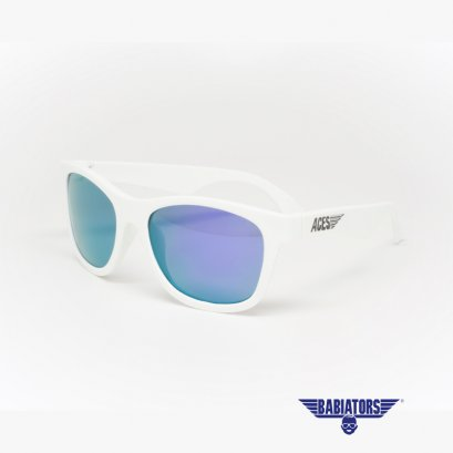 แว่นตากันแดดเด็ก ACES by BABIATORS 7-14 ปี สี Wicked White with Purple Lenses
