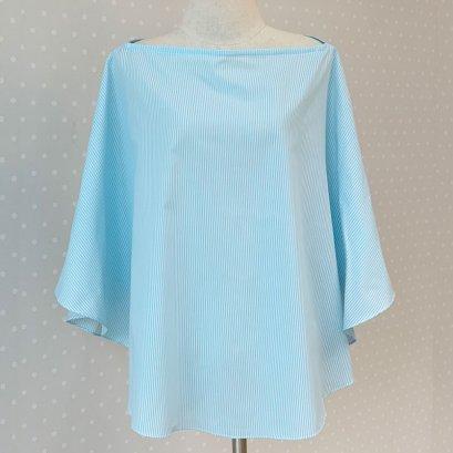 ผ้าคลุมให้นม รุ่น Oxford สี Blue Sky - Beanie Nap