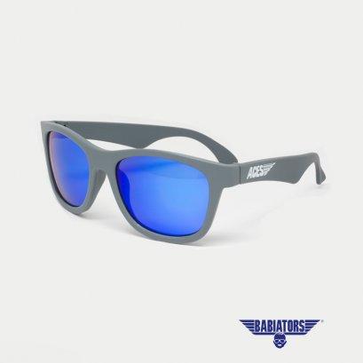 แว่นตากันแดดเด็ก ACES by BABIATORS 7-14 ปี สี Galactic Gray with Blue Lenses