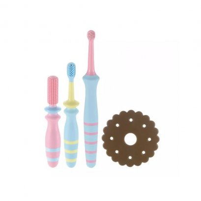 Richell Baby Toothbrush set 6 months