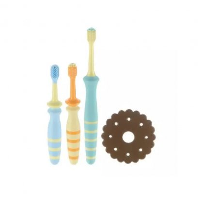 Richell Baby Toothbrush set 8 months
