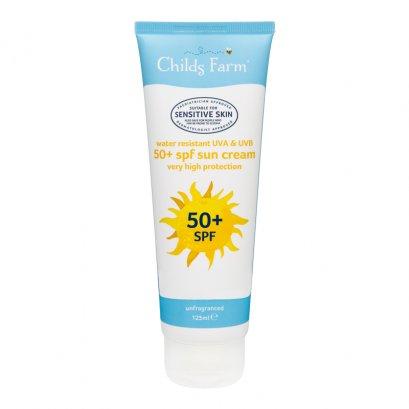 Childs Farm sun cream SPF 50+ unfragranced