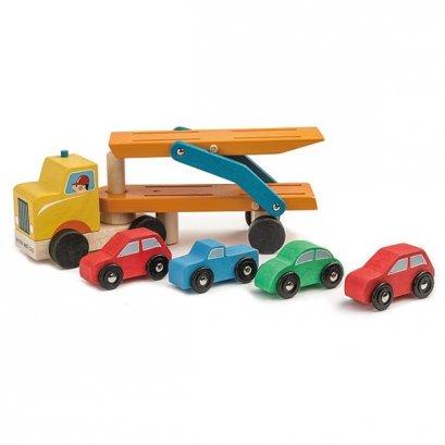 ของเล่นไม้ Car Transporter - Tender leaf toys