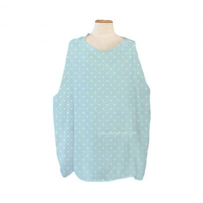 Sofflin ผ้าคลุมให้นมอเนกประสงค์ ลาย  Dotty Blue (1pcs)