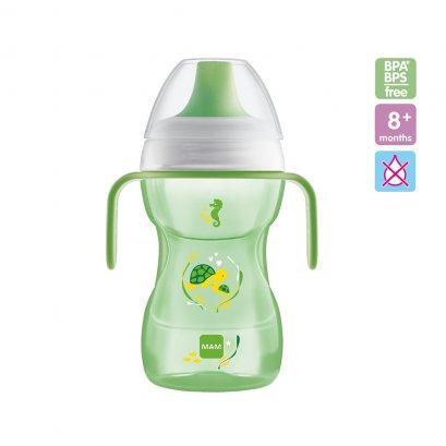 MAM ขวดหัดดื่ม Fun To Drink Cup 270 ml. (8m+)