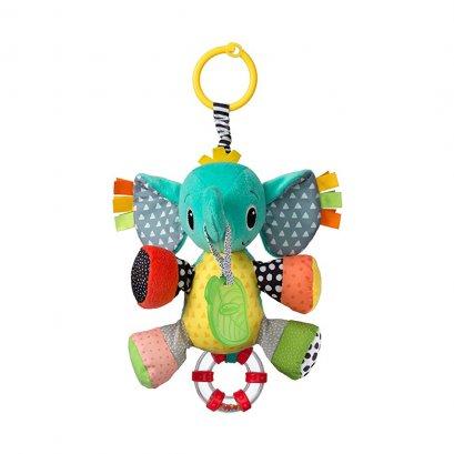 ตุ๊กตาโมบายช้างยางกัด Peanut the Elephant Activity Pal - Infantino
