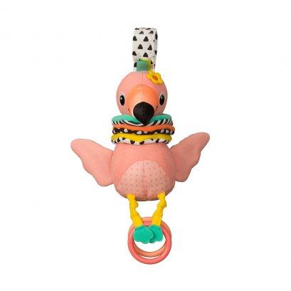 ตุ๊กตาโมบายดนตรีฟลามิงโก้ Hug & Tug Musical Flamingo - Infantino