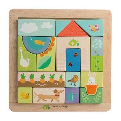 ของเล่นไม้ Garden Patch Puzzle - Tender leaf toys