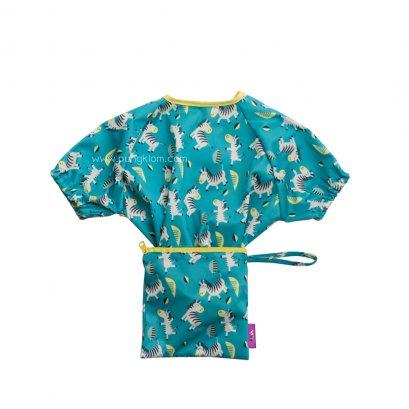 Tidy Tot เสื้อกันเปื้อนดูดโต๊ะ แขนสั้น Cover & Catch Bib
