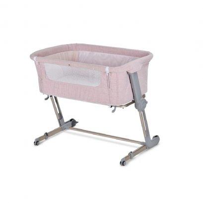 Hug Me Plus (baby crib) เตียงนอนเด็กข้างเตียง unilove รุ่น Hug Me Plus 3in1 (Pink)