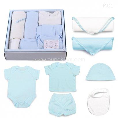 Baby Box Set เสื้อผ้าสกรีนชื่อลูกน้อย (Name Print - Made to Order)