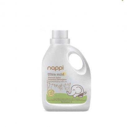 Nappi น้ำยาซักผ้าเด็ก สูตร อัลตร้ามายด์ (1,000 ml)