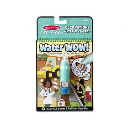 Melissa and Doug Water Wow Reusable - Occupations