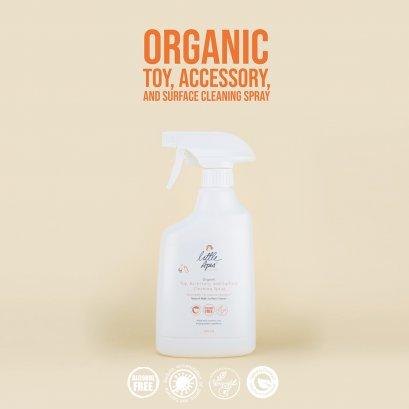 สเปรย์ทำความสะอาดของใช้เด็ก ออร์เเกนิค Little Apes (500 ml)