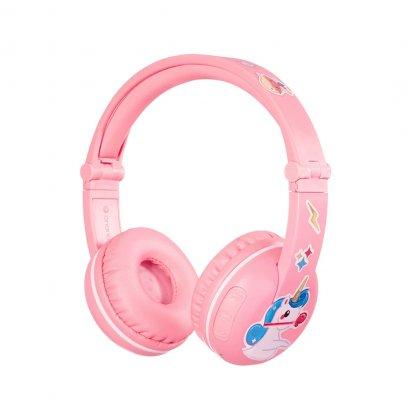หูฟังไร้สาย (Bluetooth)  BuddyPhones Play สี Sakura Pink