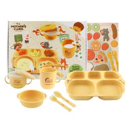 ชุดอาหารสำหรับเด็กโต Mother's Corn Play & Learn Meal Time Set