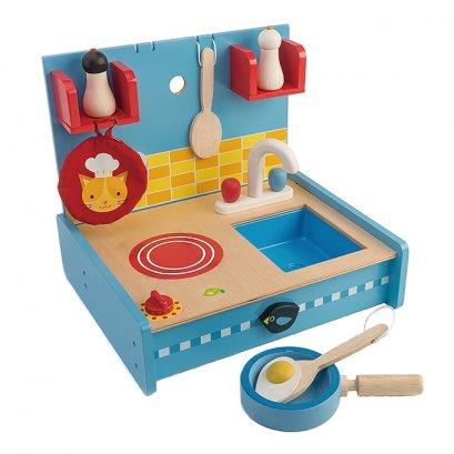 ของเล่นไม้ Pop Up Kitchen - Tender leaf toys