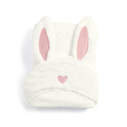 ผ้าเช็ดตัว ห่อตัว Hooded Towel ลาย Rabbit - mamas & papas  (0+)