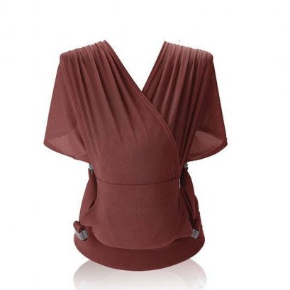 POGNAE Step One Baby Carrier - BURGUNDY