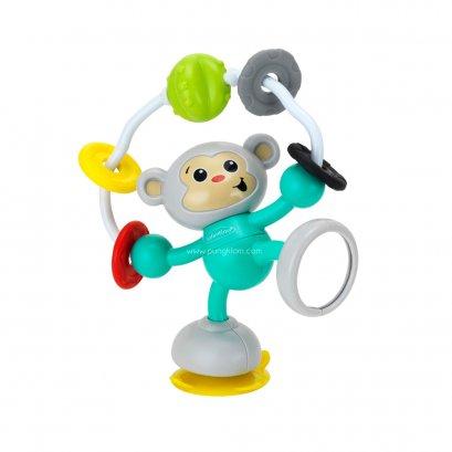 Infantino ของเล่นสำหรับติดเก้าอี้ทานข้าว STICK&SPIN HIGH CHAIR PAL