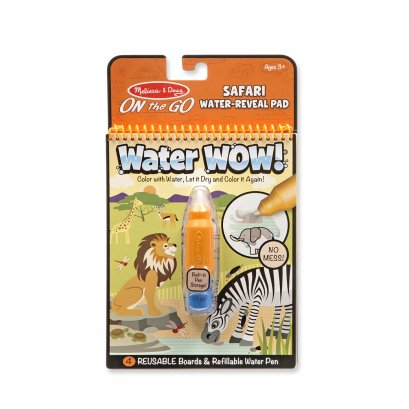 Melissa and Doug Water Wow - Safari (3y+) (25 x 18 x 2 cm.)