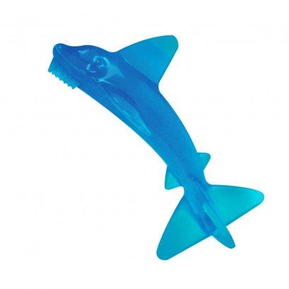 BABY BANANA TOOTHBRUSH/TEETHER - SHARKY