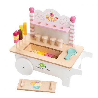 ของเล่นไม้ Ice Cream Cart - Tender leaf toys