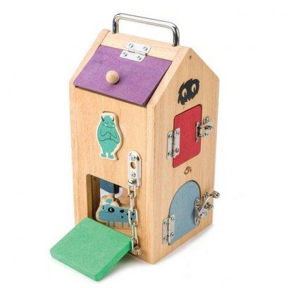 ของเล่นไม้ Monster Lock Box - Tender leaf toys