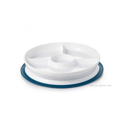OXO - ToT Stick & Stay Suction Divided Plate