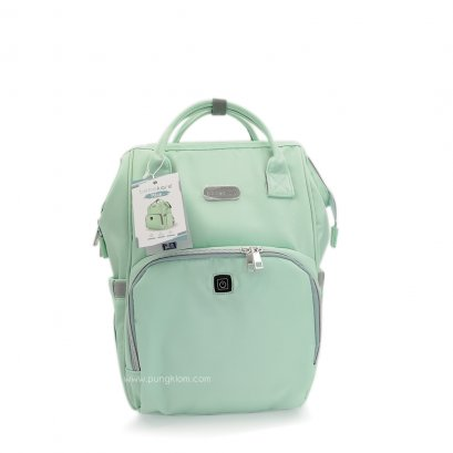 bebekare - Pack UVC LED Diaper Bag  (TEAL)
