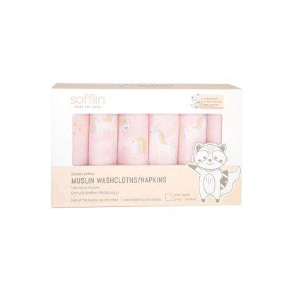 """Sofflin Washcloth 12"""" -  Unicorn (6-pack)"""