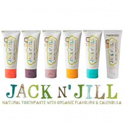 Jack N' Jill ยาสีฟันสำหรับเด็ก 50กรัม ไม่มีฟลูออไรด์