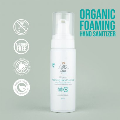 Little Apes - Organic Foaming Hand Sanitizer 60 ml.