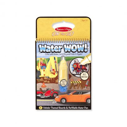 Melissa and Doug Water Wow Reusable - Vehicles