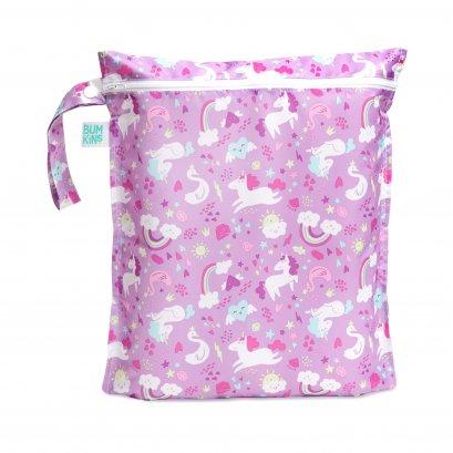ถุงใส่ผ้าเปียก ลาย Unicorn - Bumkins (30x35 cm)
