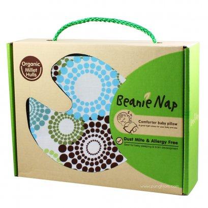หมอนกันสะดุ้ง ลาย Round about - Beanie Nap (0m+)