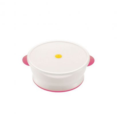 Richell Rice bowl with microwave cover